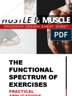 FR S3 Method Hustle and Muscle Program Design Cheat Sheet LM 2015-10-21