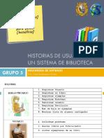 Historias de Usuario SCRUM - Biblioteca.pdf