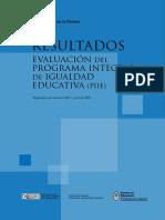 Resultados Evaluacion Programa Piie