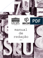 Manual-De-redacao Da Universidade Federal de Ciências Da Saúde de Porto Alegre