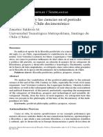 El positivismo y las ciencias en el período finisecular del Chile decimonónico1350-3721-1-PB