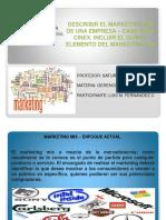 Marketing Mix y Su 5to Elemento. Caso Cinex...Luis Fernandez