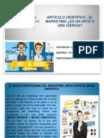 Articulo Cientifico. El Marketing Como Arte o Ciencia. Luis Fernandez