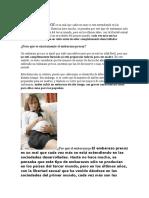 Embarazo Precoz Es Un Mal Que Cada Vez Más Se Está Extendiendo en Las Sociedades Desarrolladas