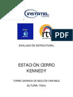 Evaluacion Estructura Torre Cerro Kennedy