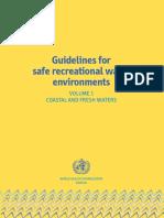 Guía Para Aguas Costeras y Aguas Dulces OMS