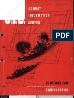 Naval Combat Operations - Oct 1944