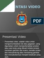 Materi Presentasi Video