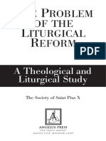 The Problem of the Liturgical Reform