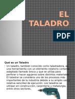 EL TALADRO mecanica de materiales.pptx