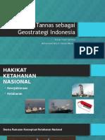 Tannas Sebagai Geostrategi Indonesia