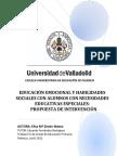 Educación Emocional y Habilidades Sociales Con Alumnos Con Nee Propuesta de Intervención