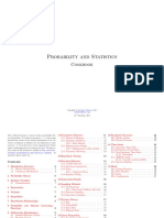 Probability and Statistics_Cookbook