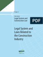 Legal System  Construction Law U1.pdf
