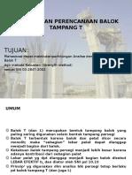 ANALISA DAN PERENCANAAN BALOK TAMPANG T.pptx