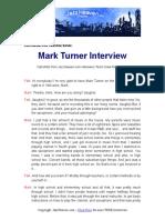 Mark Turner JazzHeaven.com Interview