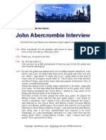 John Abercrombie JazzHeaven.com Interview