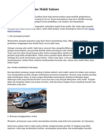 Tips dalam Jadi Sales Mobil Sukses