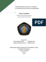 Kajian Potensi Penumpang Pesawat Terbang Rute Malang-balikpapan Dan Malang-banjarmasin