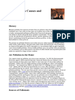 Air Pollution Causes and Effects