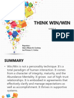 Think Win Win (7 habits of highly effective people)