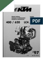 Reparaturanleitung 1997 Motor KTM LC4 400 620
