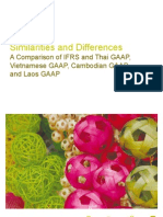 Similarities and Differences GAAP