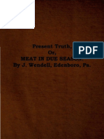 Present Truth by J. Wendell, 1873