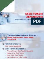 Efek Toksik Xenobiotik