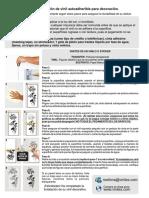 Instrucciones de Aplicacion Vinil Decorativo