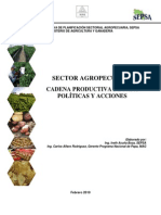 Cadena productiva de papa (en Costa Rica). Políticas y acciones.