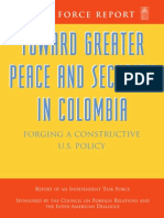 No. 29 - Toward Greater Peace and Security in Colombia