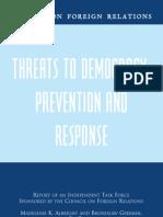 No. 42 - Threats to Democracy