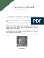 Mariano Baquero Goyanes - Trayectoria de La Novela Actual