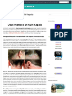 OBAT PSORIASIS DI KULIT KEPALA   Mengatasi, Mengobati dan Menyembuhkan Psoriasis Scalp Pada Kulit Kepala Dengan Secara Alami Tanpa Efek Samping, Yakni Menggunakan Obat Psoriasis Scalp Herbal