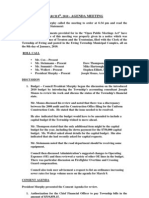 2010-03-08 Council Agenda Session Minutes