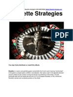 Roulette Strategies - Simple Roulette Strategies To Win Big Online