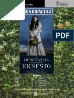 Guia Didactica la Importancia de llamarse Ernesto
