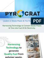 Pyrocrat Systems LLP - Pyrolysis Plant