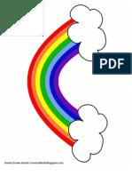 Rainbow Lacing Card