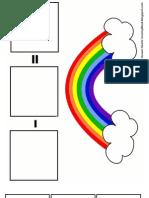 Rainbow Subtraction Mat