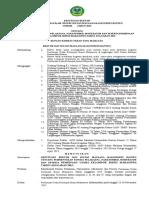 Contoh Surat Keputusan Rektor 1