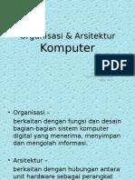 (1) Organisasi & Arsitektugesfr
