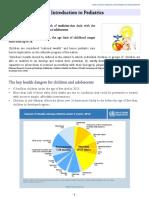 1.Intro Pediatrics