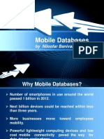 Mobile-Databases Presentation