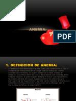 ANEMIA Seminario 6 Fisiologia