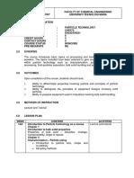 Lesson Plan CHE572 EH220 5 Mac 2014