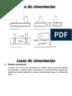 DISEÑO DE LOSA DE CIMENTACION