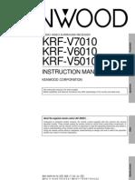 Kenwood KRF-V7!6!5010 Pro Logic Amp