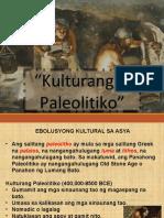5 Ebolusyong Kultural Sa Asya